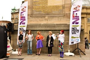 Charity Shop challenge NCL fashion week 2011