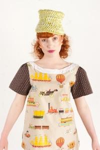 'Hot air balloon' blouse